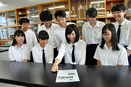 日高高等学校制服画像